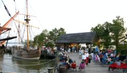 Party on the Pier @ Jamestown Settlement | Williamsburg | Virginia | United States